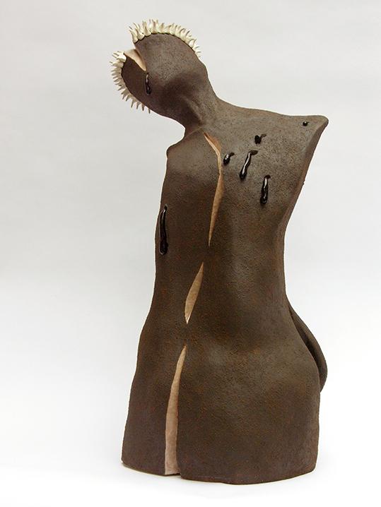 Bust n°5 – céramique – 62x42x28 cm – 2010