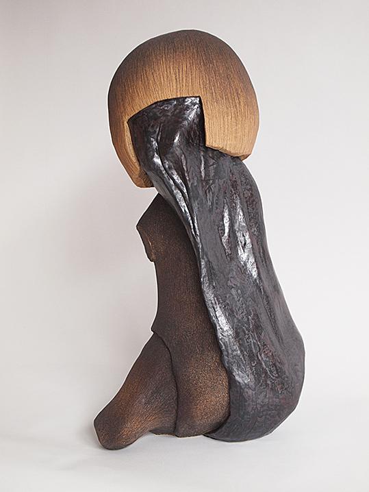 Corpusgraphie n°10 – céramique – 56x26x28 cm – 2016
