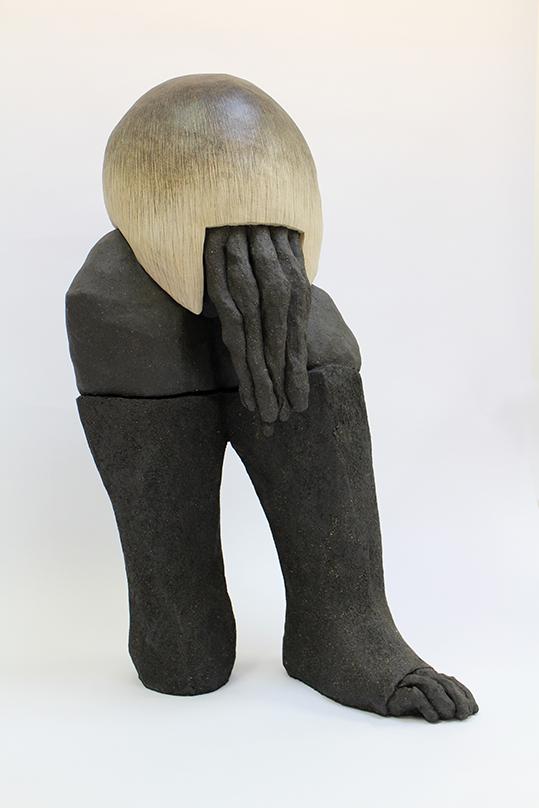 Corpusgraphie n°13 – céramique – 98x47x65 cm – 2016
