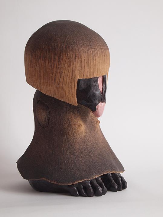 Corpusgraphie n°9 – céramique – 39x26x25 cm – 2016