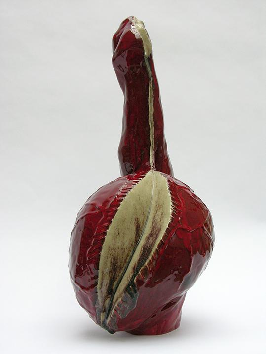 Red one – céramique – 70x40x48 cm – 2009