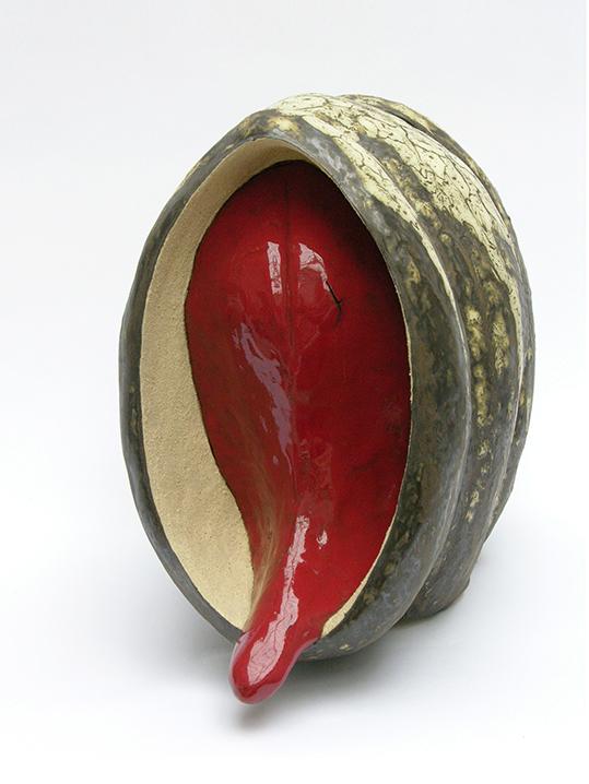Red three – céramique – 34x24x38 cm – 2009