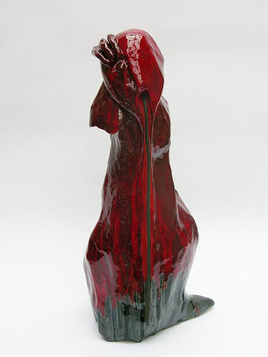Red twoo – céramique – 66x40x30 cm – 2010
