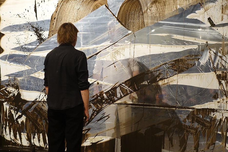 Recto/verso – performance – Céramique 11, Paris – 2018 – Photo © Dominique Hamot