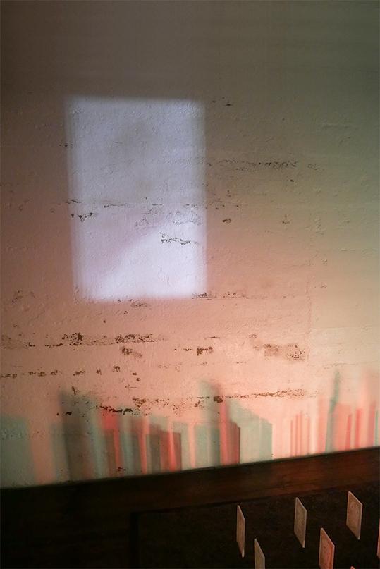 Unknown sailors – plexiglass, acrylique, terre – 20x168x260 cm – 2020
