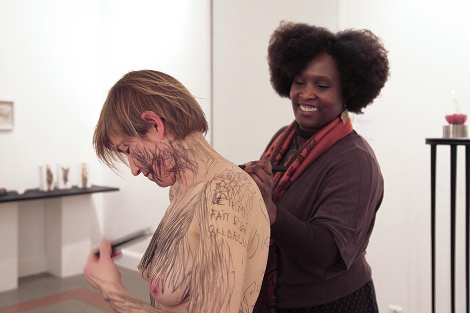 M'inscrire – L'Atelier Centre d'Art, Mitry Mory – 2017 – photos © Pilar Du Breuil
