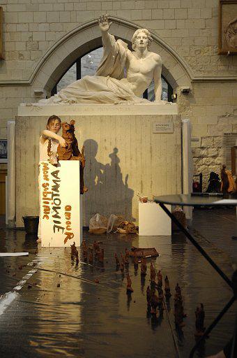 Terra incognita  n°4 – Musée David d'Angers – 2008 – Photo © Jeff Rabillon