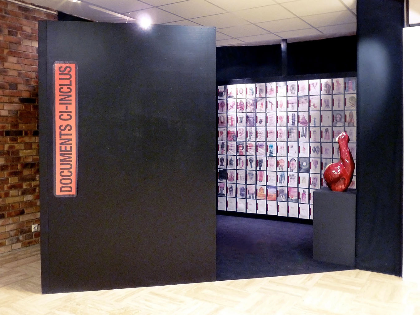 Exposition Corpus Graphie – Montreuil – 2012